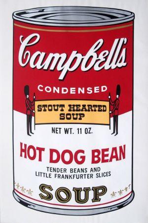 Keine Technische Warhol - Campbell's Soup II: Hot Dog Bean (FS II.59)