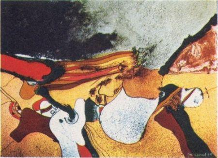 Lithographie Guinovart - Cap a fora