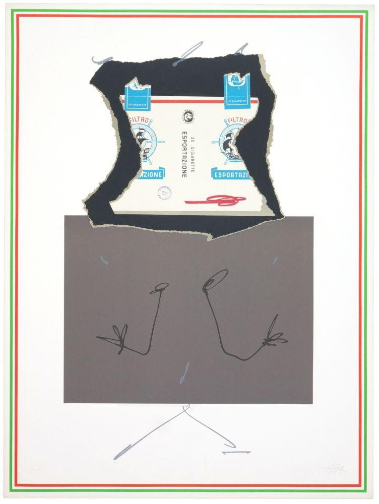 Lithographie Saura - Carla