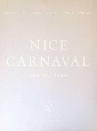 Lithographie Vautier - Carnaval de Nice