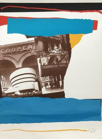 Lithographie Motherwell - Carnegie Hall