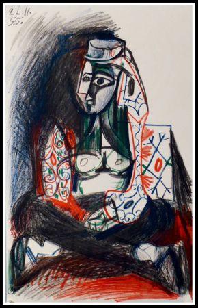 Lithographie Picasso (After) - CARNET DE CALIFORNIE VII