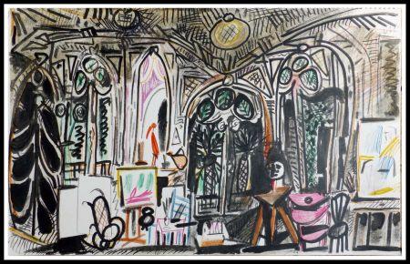 Lithographie Picasso (After) - CARNET DE CALIFORNIE XIII