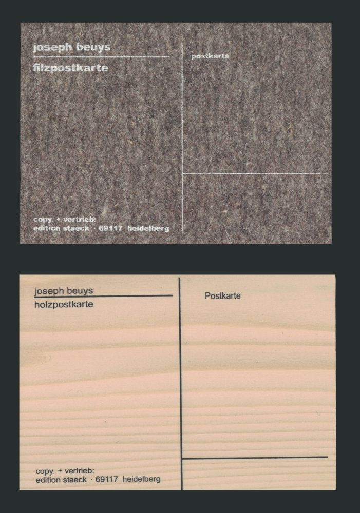 Siebdruck Beuys - Cartes Postales