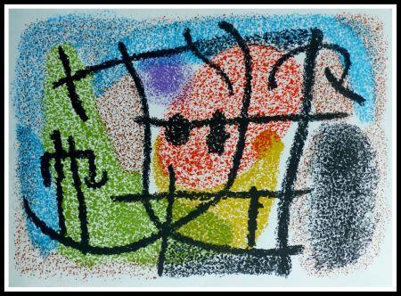 Lithographie Miró - CARTONES