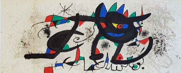 Lithographie Miró - Catalogue Cover