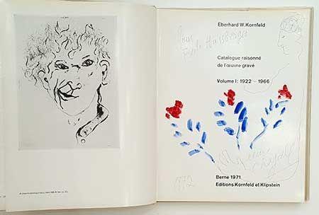Illustriertes Buch Chagall - Catalogue de l'oeuvre gravé - dessin