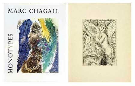 Illustriertes Buch Chagall - Catalogue des monotypes