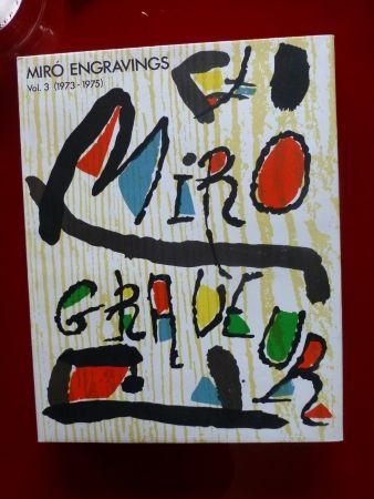 Illustriertes Buch Miró - Catalogue raisonné des gravures