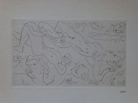 Radierung Matisse - Catalogue raisonné des ouvrages illustrés