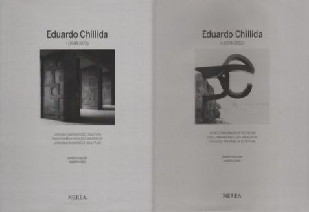 Illustriertes Buch Chillida - Catalogue raisonné of Sculpture 2 Volumes