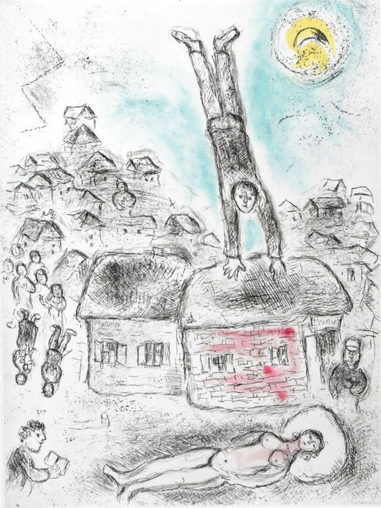Keine Technische Chagall -  Ce lui qui dit les choses sans rien dire (Plate 10)