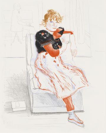 Keine Technische Hockney - Celia Observing