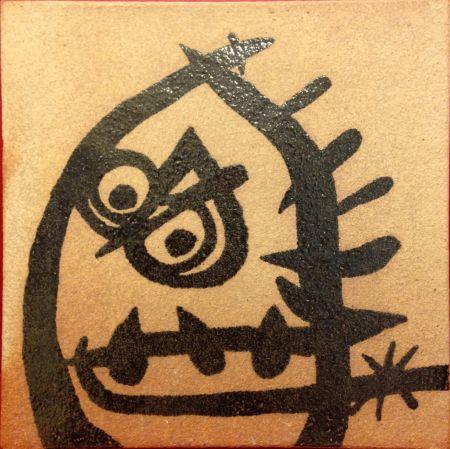 Keramik Miró (After) - Ceramic