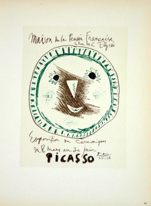 Lithographie Picasso (After) - Ceramiques