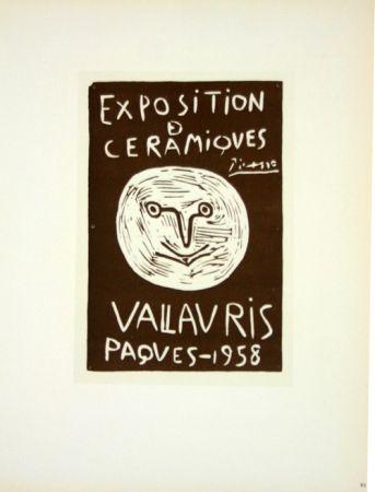 Lithographie Picasso (After) - Ceramiques  Paques