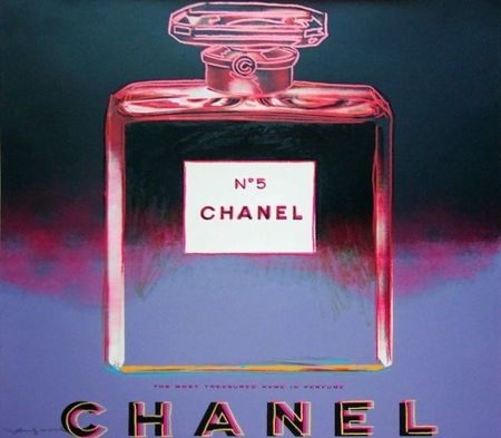 Siebdruck Warhol - Chanel (FS II.354)