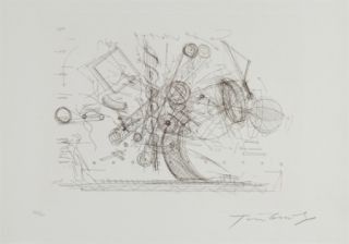 Stich Tinguely - Chaos