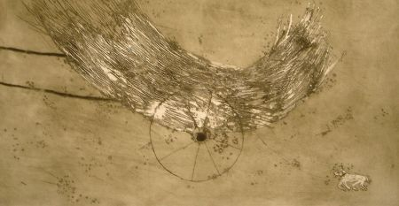Radierung Und Aquatinta Barcelo - Chariot
