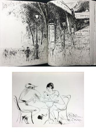 Illustriertes Buch De Segonzac - Charles-Louis Philippe : BUBU DE MONTPARNASSE. Avec dessin original et suites (1929).