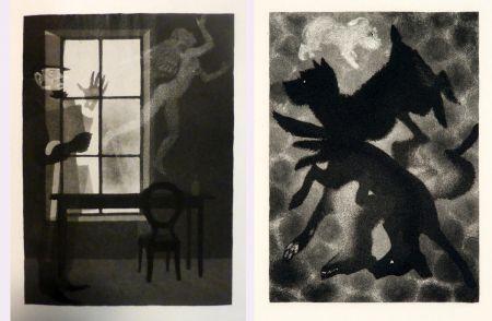 Illustriertes Buch Alexeïeff - Charles Baudelaire : PETITS POÈMES EN PROSE. Eaux-fortes d'Alexeieff (1934).
