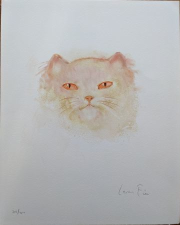 Lithographie Fini - Chat