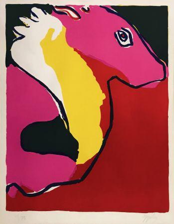 Lithographie Appel - CHEVEL (HORSE)