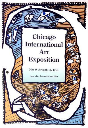 Plakat Alechinsky - Chicago International Art Exposition
