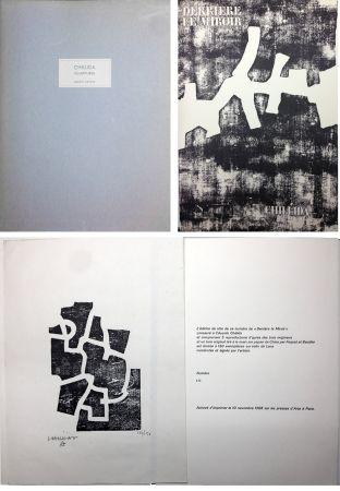 Illustriertes Buch Chillida - CHILLIDA SCULPTURES. Derrière Le Miroir n° 174. Nov. 1968. TIRAGE DE LUXE SIGNÉ.