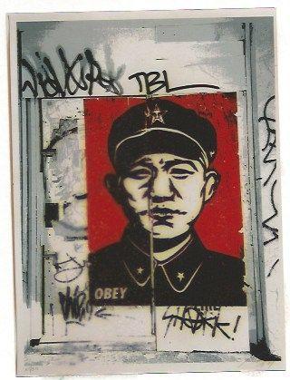 Siebdruck Fairey - Chinese San Francisco