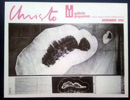 Plakat Christo - Christo - Galeria Ynguanzo 1983