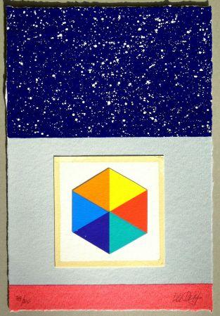 Siebdruck Del Pezzo - Cielo stellato