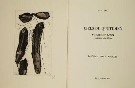 Illustriertes Buch Debré - Ciels du quotidien