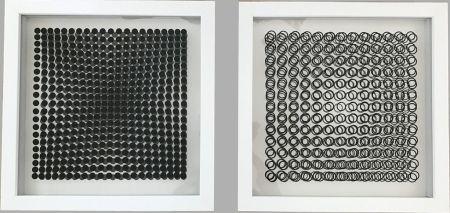 Keine Technische Vasarely - Cinétiques VI White 2 works