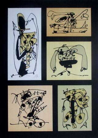 Lithographie Saura - Cinco en uno