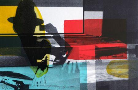 Lithographie Soulie - Cinema