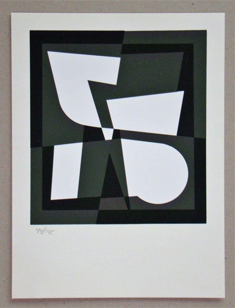 Siebdruck Vasarely - Cingsha