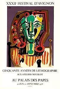 Lithographie Picasso (After) - Cinquante années de lithographies