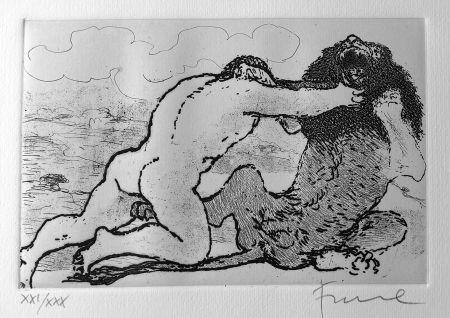 Illustriertes Buch Fiume - Cinque acqueforti per i poeti greci tradotti da Salvatore Quasimodo.