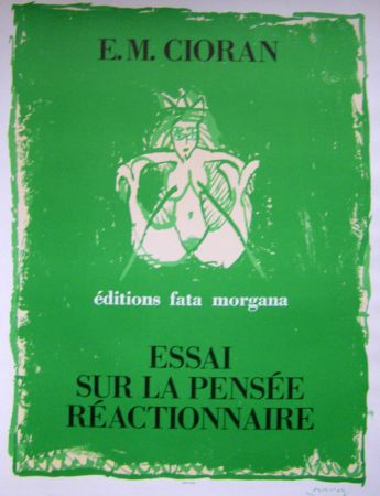 Plakat Alechinsky - Cioran