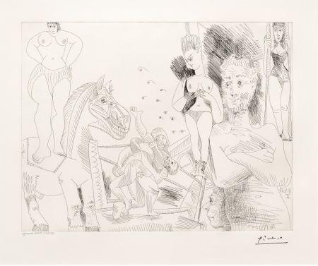 Stich Picasso - Cirque et Catch