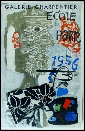 Plakat Clavé - CLAVÉ - ECOLE DE PARIS, GALERIE CHARPENTIER