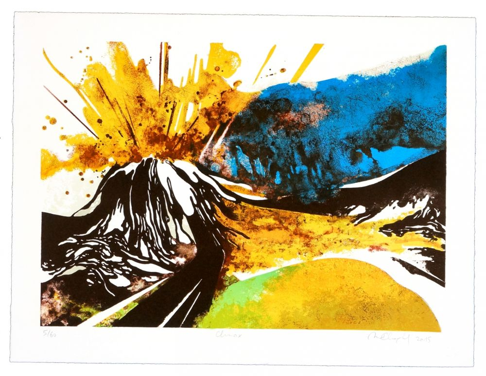 Lithographie Dolma - Climax