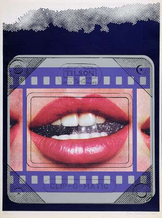 Siebdruck Tilson - Clip O Matic Lips