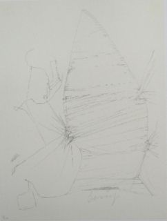 Lithographie Beuys - Codices Madrid 3