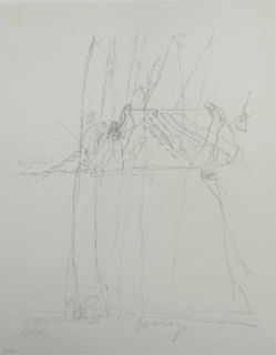 Lithographie Beuys - Codices Madrid 4