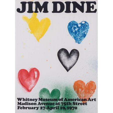 Plakat Dine - Coeurs pour le Whitney