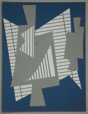 Pochoir Magnelli - Collage