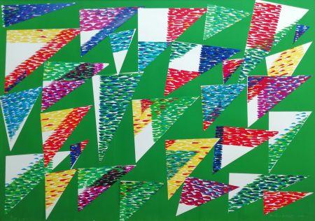 Multiple Dorazio - Collage di Triangoli