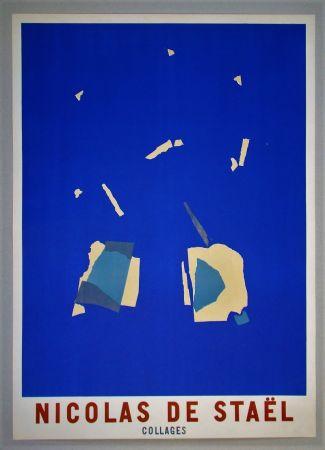 Plakat De Stael - Collages